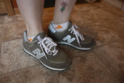 retro New Balance 574s