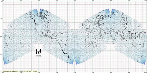 Cahill-Keyes Multi-scale Megamap (Fragmento)