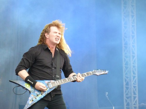 Dave Mustaine Megadeth Sonisphere 2011