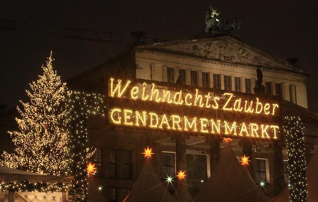 Weihnachtszauber Gendarmenmarkt Berlin