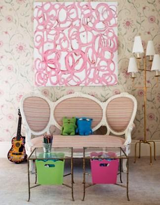 Melissa Rufty pink Amanda Talley painting