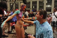 BODY PAINTING IN TIMES SQUARE  2011     /     ...