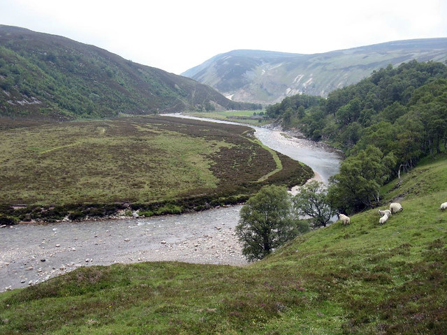 Tomintoul to Linn of Avon