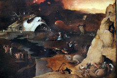 detail of Heironymous Bosch painting
