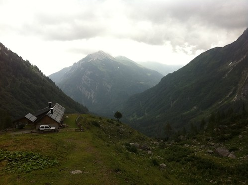 Karnischer Höhenweg, Obere Valentinalm