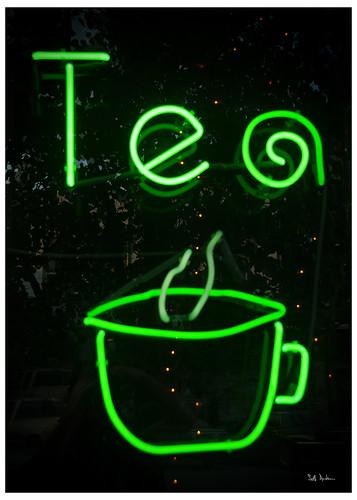 Neon Green Tea