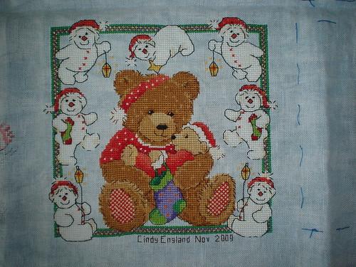 Teddy-bear made by Cindy