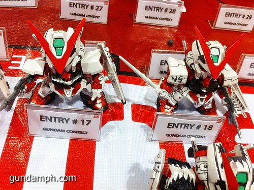 Free SD Astray Red Frame at TK Gundam Detailing Contest Caravan (17)