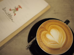 Latte Art, Smitten Coffee & Tea Bar