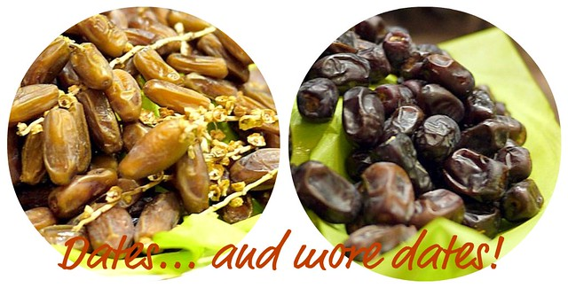 Dates collage