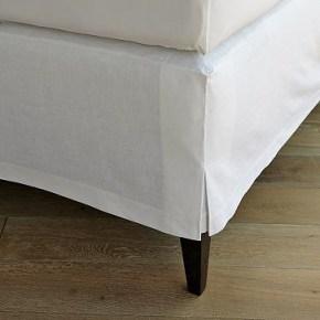 linen cotton beadskirt west elm