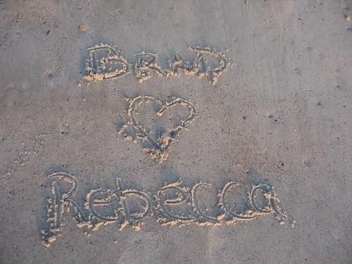 brad loves rebecca
