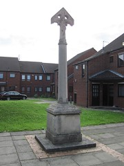 Memorial to Edith Mary Cordeux, Holy Rood Convent, Middlesbrough