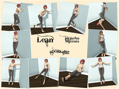 aDORKable Poses: Lean