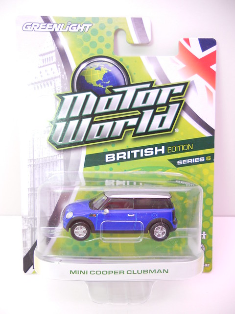 greenlight motorworld british edition mini cooper clubman (1)