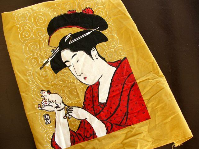handcut stencilled Shucho