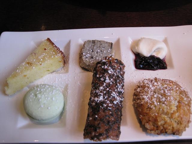 Cha-an tea dessert assortment