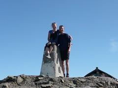 On top of Ben Nevis