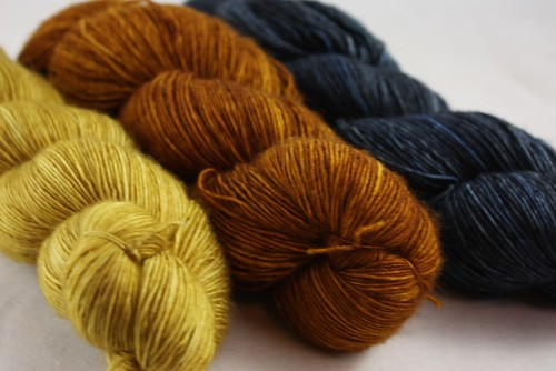 Tosh Merino Light winter wheat-nutmeg-thunderstorm by happyknits