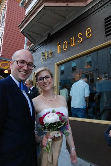 Björn och Miriams bröllop i San Francisco