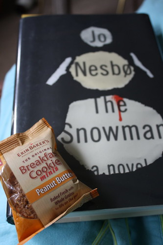 Erin Baker's Breakfast Cookie Peanut Butter and The Snowman