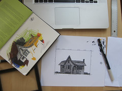 House Drawing: In Progress