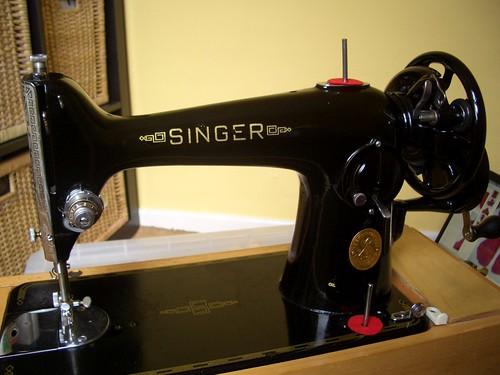 Singer 201 Hand Crank