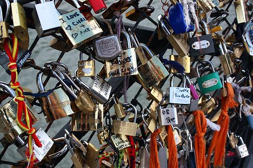 l-o-v-e is a lock