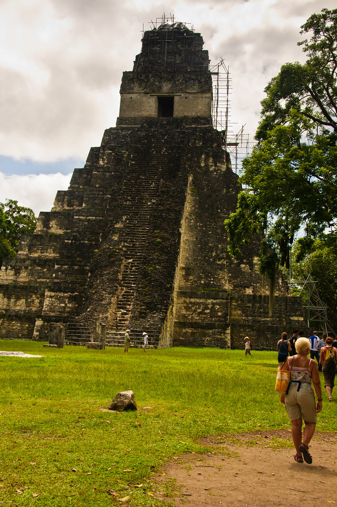 Temple I and the Great Plaza, Tikal