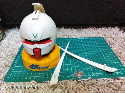 Turn A Gundam Head Display Coin Bank (10)
