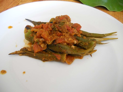 Okra all'indiana
