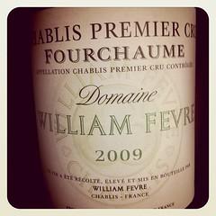 Chablis Les Fourchaume 2009, Domaine William Fevre