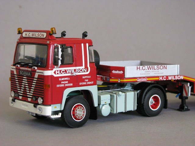 HC Wilson Transport Scania 141