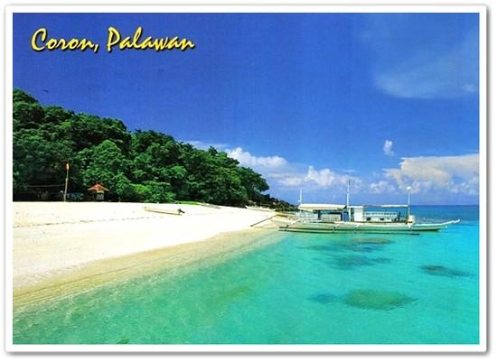 Coron, Palawan postcard