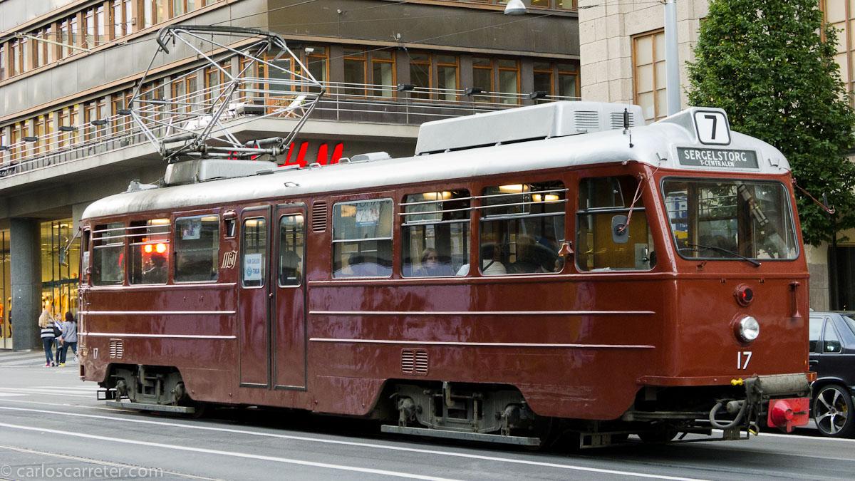 Tranvía de época