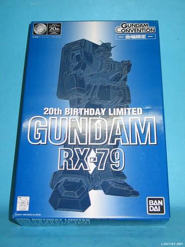 RX-79 20th birthday limited gundam convention (2)