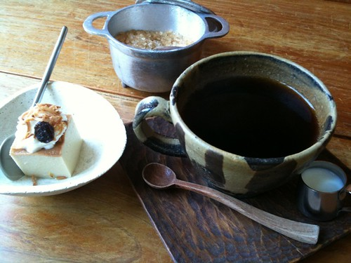 カフェのランチはコーヒーをちゃんといれるのでいいね。