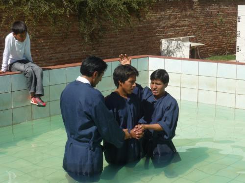 A Baptism!