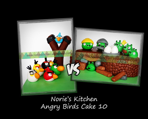 Norie's Kitchen - Angry Birds Cake 10