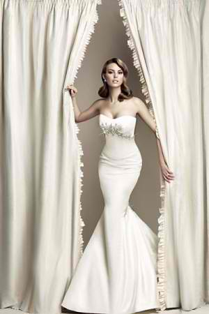 Vera Wang Wedding Dress for Kim Kardashian