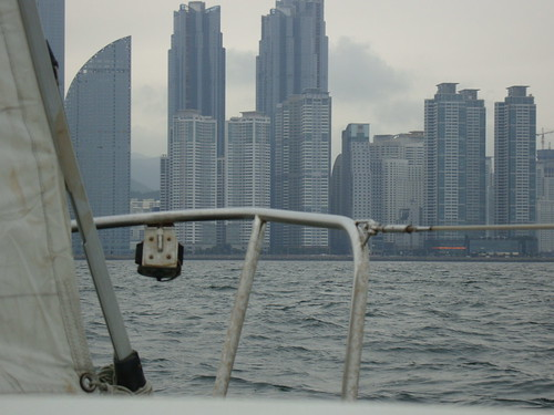 Sailing in Haeundae