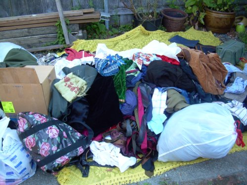 Pile of clothing