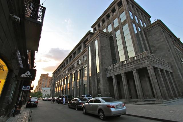 Architecture à Erevan, Arménie