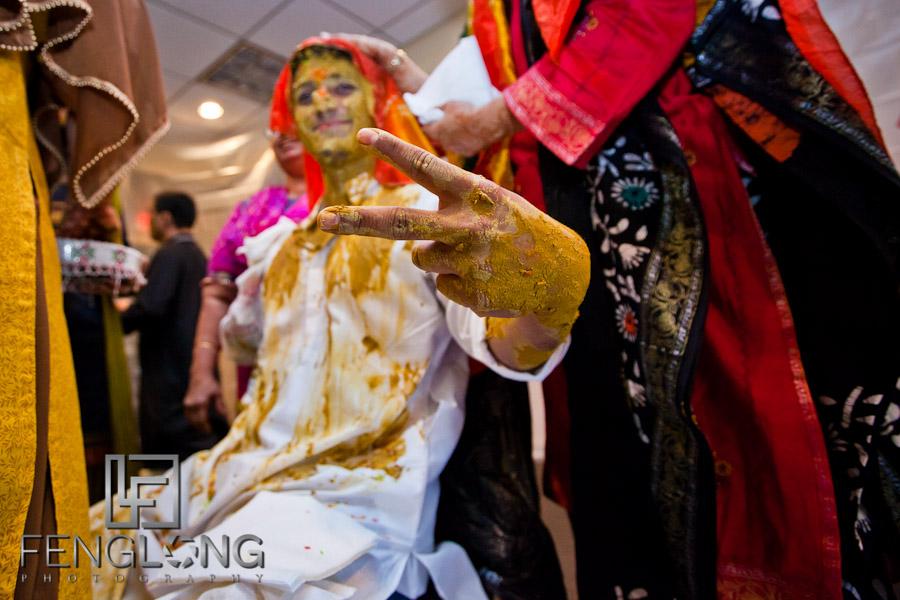Shamz & Sana's Wedding Day 2 Pithi Ceremony | Hyatt Place Atlanta Airport South | Atlanta Indian Photographer