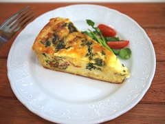 Spinach and Tomato Quiche, The Orange Thimble, Eng Hoon Street, Tiong Bahru
