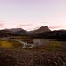 Sólsetur við F208