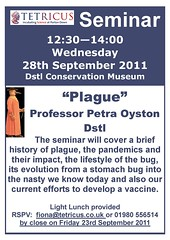 Poster for September Tetricus seminar