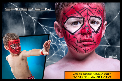 kid child spiderman facepaint spiderboy diypfav