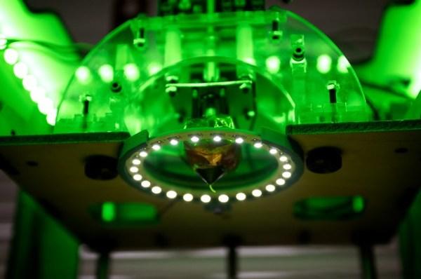 LED lights installed around print head