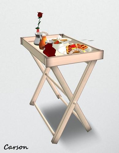 Aphrodite Shop - Waffles Service Tray  ($0L)